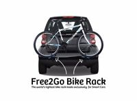 bike rack for smart car (free2go) like new