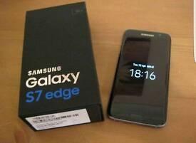 Boxed Samsung Galaxy S7 Edge 32gb Black UNLOCKED