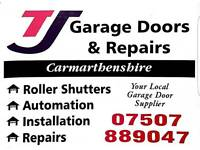 Garage doors new and used