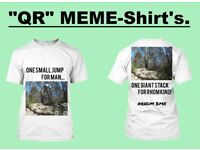 """QR"" MEME-Shirt's."