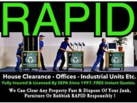 ☎️ RAPID RESPONSE DISPOSAL,House Clearance ✅ Rubbish Removal ✅ Office Junk ✅ Man and a van, Uplifts