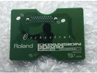 Roland JV80-02 Orchestral Expansion Board