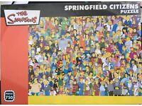 NEW Simpsons 750 piece puzzle jigsaw pieces