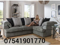 Rico grey brand new corner sofa(Extra chair)**Free delivery**