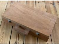 Craft box / Fly tying box (Wooden)