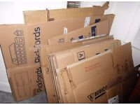 CARDBOARD PACKING BOXES Pickfords