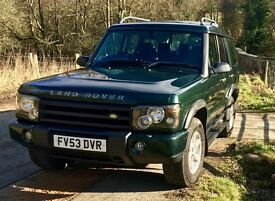 Land Rover Discovery TD5 7 seats 2003 12 months MOT