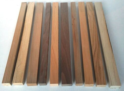 "30 pcs 3/4"" x 1"" x 16"" WALNUT Ash MAPLE Red Oak CHERRY Cutting Board Edge Wood"