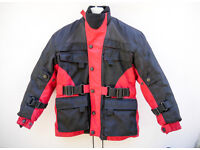 Children's kids motorcycle jacket and Buffalo trousers