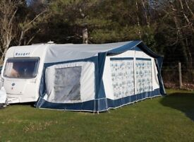 Bradcot 960 Active Caravan Awning in Blue - excellent condition