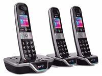 Brand New BT8600 Premium Nuisance call Blocker 3 handsets