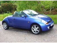 Ford Ka 1.6 Convertible with Low Mileage & New 1 YRS MOT