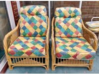 CONSERVATORY CHAIRS WITH CUSHIONS