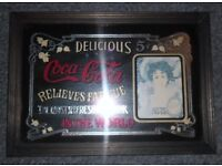 Coca Cola Mirror - 5c Relieves Fatigue, The Most Refreshing Drink In The World.