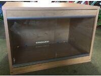 2 foot wooden vivarium
