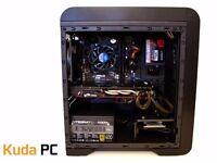 GAMING PC - i5 4430 - 12GB DDR3 - R9 380 4GB - 128GB SSD - 500GB HDD - NEW - WARRANTY - KUDA PC