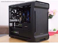 Gaming PC i5-4570s, 16GB ram, GTX980, 120gb ssd+500GB hdd, window case, Corsair PSU
