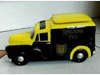 Lovely Ringtons Morris Minor Van Cookie Container