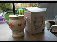 Sagaform mulled wine urn uses tea light candle