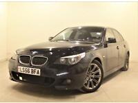 BMW 5 SERIES 3.0 530D M SPORT 4d 228 BHP Please call on 01908 888 466 (black) 2006