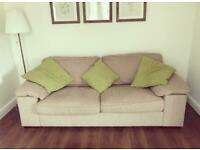 Single armchair and 3 seater sofa