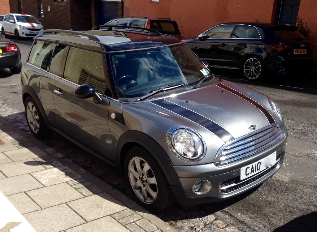 mini cooper clubman 1 6 diesel graphite limited edition july 2010 12m mot full service. Black Bedroom Furniture Sets. Home Design Ideas