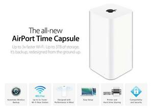 BRAND NEW IN BOX 2TB TIME CAPSULE + FULL APPLE WARRANTY