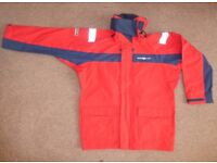 Henry Lloyd TP2000 Coastal Sailing Jacket Red/Navy – Size XL
