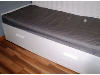 Ikea BRIMNES Day-single bed ( double bed ) with 2 drawers