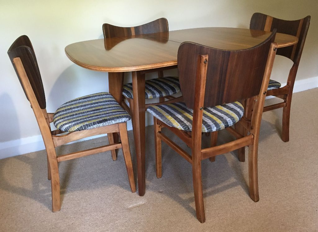 Retro Folding Dining Table by Morris of Glasgow 4 Retro Dining