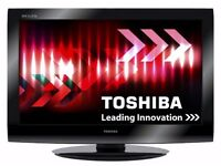 "Toshiba 32"" Full HD 1080p Flat LCD TV with Freeview built in + 3 x HDMI + USB Port, not 37 39 40"