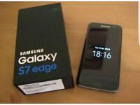 Samsung Galaxy S7 Edge 32gb Black Unlocked.
