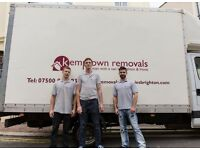 From £25 p/h, highly professional and experienced man and van service / Removal company.