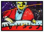 Herman Brood | Giclée: The Pianoman | Afmeting: 85cm x 120cm