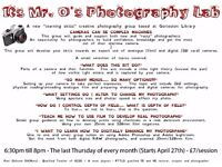 It's Mr O's Photogrpahy Lab - Gorleston Library 27th April