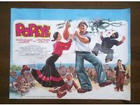 popeye ' original 1980 cinema poster