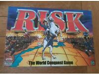Classic Risk Board Game Complete 2000 Parker Hasbro