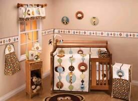 Nojo Jungle Nursery Set