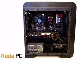 GAMING PC - i5 4460 - 16GB DDR3 - R9 380 4GB - 128GB SSD - 500GB HDD - NEW - WARRANTY - KUDA PC