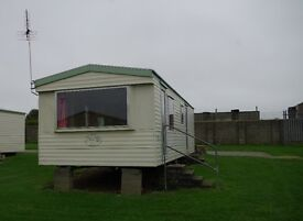 Family owned caravan for hire Trenance Holiday Park. May bank holiday still available £230 pw.