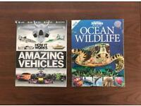 Ocean Wildlife & Amazing Vehicles Magazines