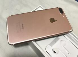 Iphone 7plus rose gold 256