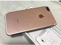 Iphone 7plus rose gold 256
