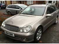 2004 Mercedes C180 Kompressor Elegance Estate, Petrol, Manual