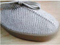 New, Arcopedico knitted tie shoe, uk4, Beige, Orthopaedic, Very/JD Williams