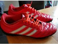 Adidas red astro football boots size 8