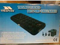 Air mattress single Trespass camping