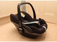 Maxi Cosi Pebble Group 0+ car seat - VGC