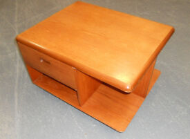 Meredew Mid Century Teak Coffee Table with Storage