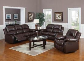 Brand new Leather Suites Delivery Available throughout NI